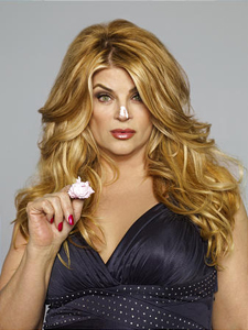 Kirstie Alley in <em>Kirstie Alley's Big Life</em>. (Photograph by Brian Doben.)