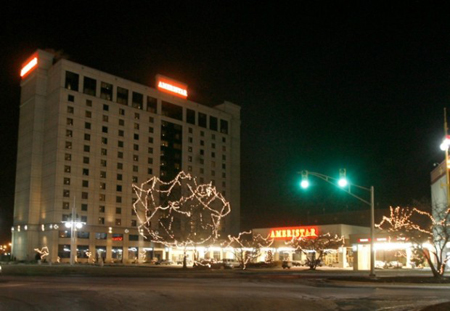 Ameristar Casino East Chicago plans a $4.2 million upgrade of all rooms in its luxury hotel. The hotel was built in 2001 at a cost of $47 million by then-owner Harrah's Entertainment.  (Photograph by John Luke/Times File Photo.)