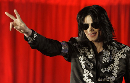 Michael Jackson announces March 5, 2009, he is set to play 10 concerts at the London O2 Arena that July. He spoke about his plans at a news conference at the arena.