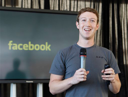 Facebook CEO Mark Zuckerberg talks about the new email service at an announcement in San Francisco, Monday, November 15, 2010. (AP Photo/Paul Sakuma)