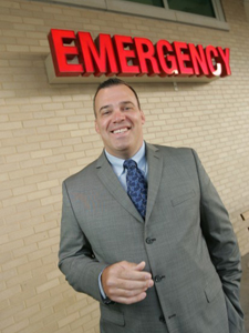Seth Warren, CEO of St. James Hospital, spearheaded a revitalization of the two-campus health care facility. (Photograph by Tony V. Martin.)