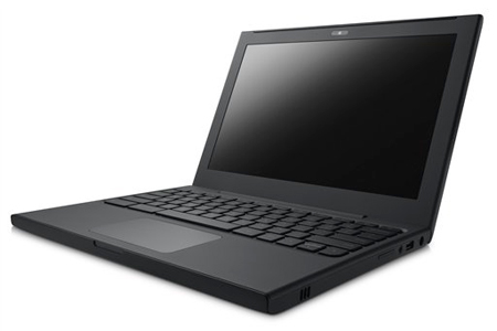 In this product image provided by Google Inc., the Cr-48 Chrome notebook is displayed. (AP Photo/Google Inc.)