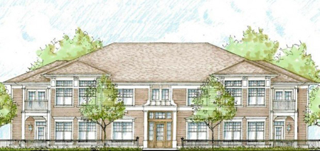 A rendering of the proposed Manor Homes in Burns Harbor. (Rendering provided.)