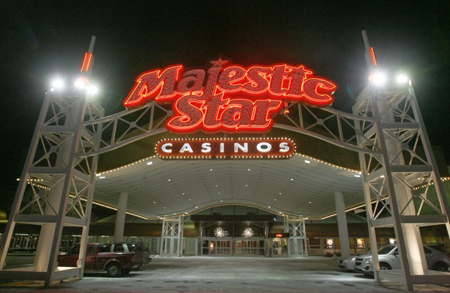 Overall casino revenues this past month were up 3.2 percent at Northwest Indiana's five gaming boats as compared to December 2009. Majestic Star Casino in Gary led the way with a 22.6 percent increase. (Photograph by John Luke/The Times.)