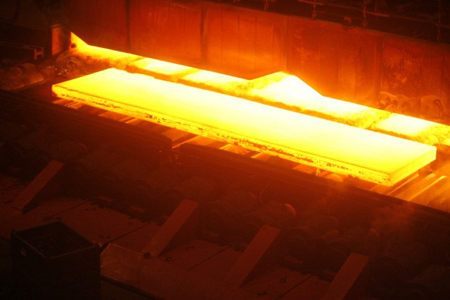 Production is shown at U.S. Steel in Gary. The American Iron and Steel Institute, a Washington, D.C.-based steel industry trade group, said U.S. steelmakers produced about 88.5 million tons of steel in 2010, compared to about 64.3 million tons in 2009. (Times file photo)