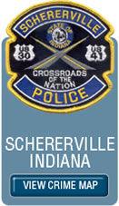 Schererville Crime Map